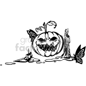 Halloween clipart illustrations 028 clipart. Royalty-free image # 387074