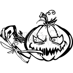 Halloween clipart illustrations 014 clipart. Royalty-free image # 387084