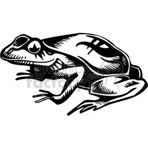 frog graphic clipart. Royalty-free image # 387095