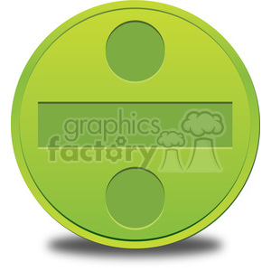 circle division sign clipart clipart. Royalty-free image # 387185