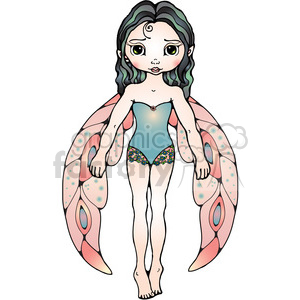 03 Fairy COL clipart. Commercial use image # 387524