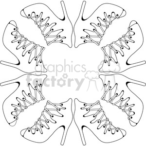 Heels 11 Frame clipart. Commercial use image # 387615