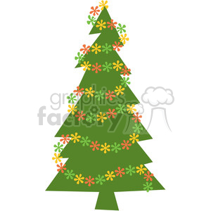 Christmas Tree 04 clipart clipart. Commercial use image # 388021