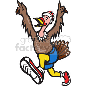 turkey victory clipart. Royalty-free image # 388280