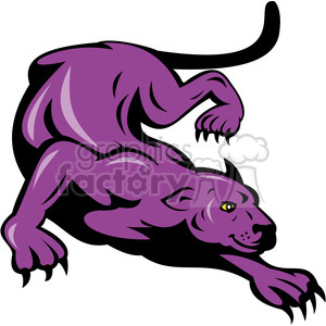 panther clipart. Commercial use image # 388380