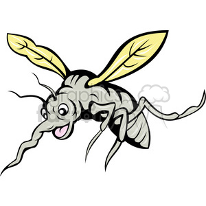cartoon mosquito clipart. Royalty-free image # 388390