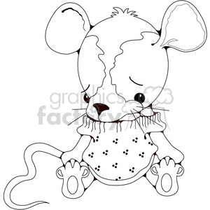 Stuffed Mouse clipart. Royalty-free image # 388548