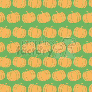 6646 Royalty Free Clip Art Pumpkin Background Seamless Pattern In Green clipart. Commercial use image # 389737