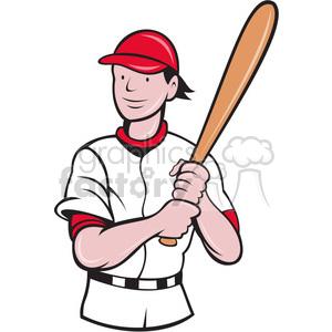 baseballbattingstance clipart. Royalty-free image # 389940