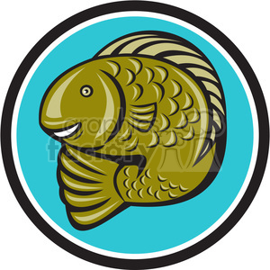 fish clipart. Commercial use image # 389980