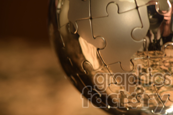 earth puzzle photo. Royalty-free photo # 391029