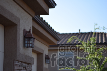 exterior house clipart. Royalty-free image # 391164