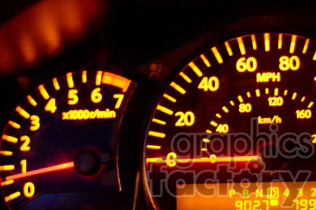 dashboard speedometer photo. Royalty-free photo # 391174