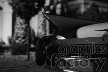 Cadillac photo in black and white photo. Royalty-free photo # 391324