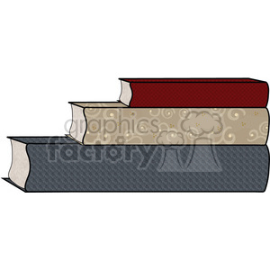 Book Stack2 clipart. Commercial use image # 391605