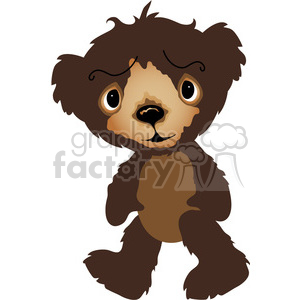 Brown Teddy Bear clipart. Royalty-free image # 391607