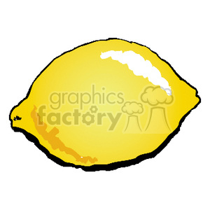 cartoon lemon clipart. Commercial use image # 141996