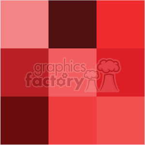 shades of red swatch clipart. Royalty-free image # 392577