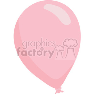valentines pink ballon clipart. Royalty-free image # 393816