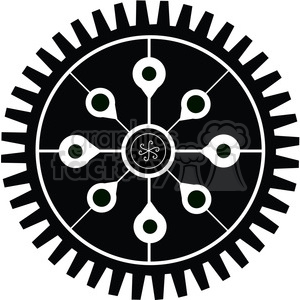 Gear 15 clipart. Commercial use image # 394092