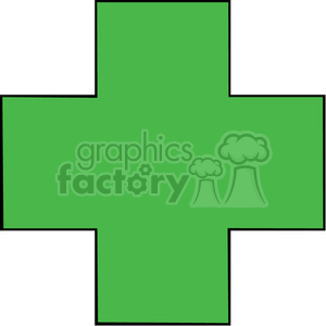 health symbol clipart. Royalty-free image # 149539