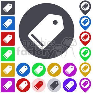 tag icon pack clipart. Commercial use image # 397276