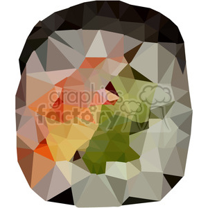 Sushi Roll geometry geometric polygon vector graphics RF clip art images clipart. Royalty-free image # 397350