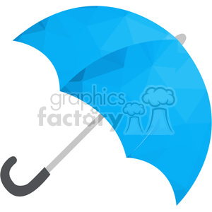 Umbrella polygon art clipart. Royalty-free image # 397948