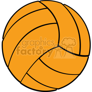 sports equipment volleyball clipart. Commercial use image # 398108