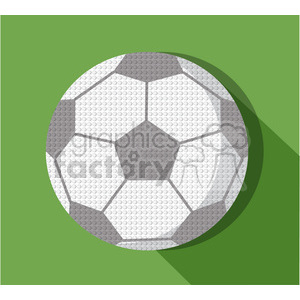 sports equipment soccer ball illustration clipart. Commercial use image # 398158
