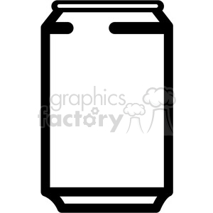 soda can icon with no label and no tab clipart. Royalty-free image # 398248