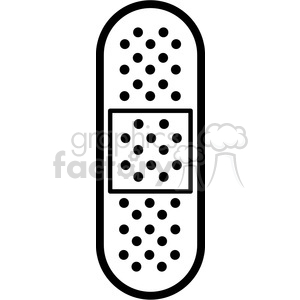 band aid outline clipart. Royalty-free image # 398277
