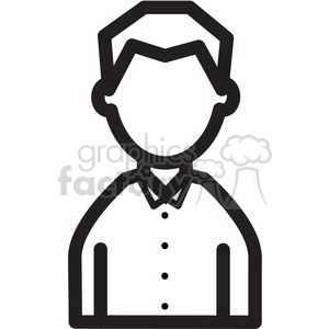 man icon clipart. Royalty-free image # 398343