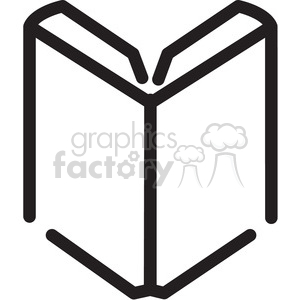 open book icon clipart. Royalty-free icon # 398353