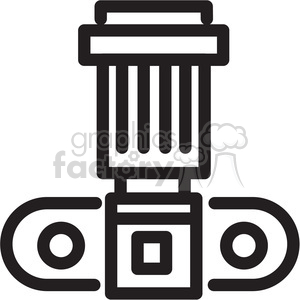 camera icon clipart. Royalty-free image # 398403