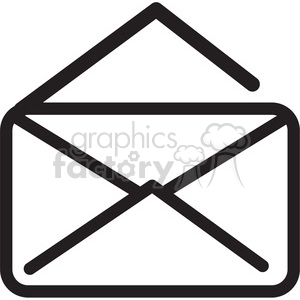 icon black+white symbol symbols mail message email envelope