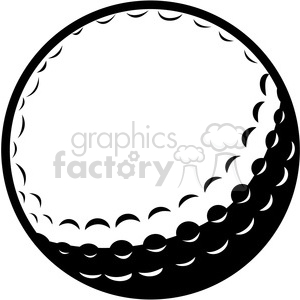 Golf ball clipart. Commercial use image # 169114