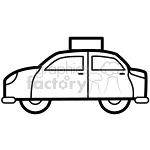 icons black+white outline vehicle transportation cab uber car taxi