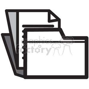 save files vector icon clipart. Royalty-free icon # 398679