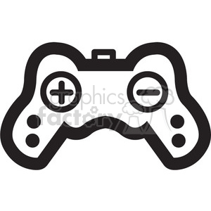 playstation controller vector game icon clipart. Royalty-free image # 398709