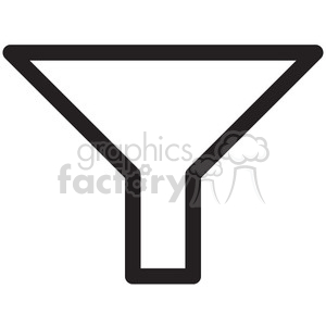 funnel vector icon clipart. Royalty-free image # 398724