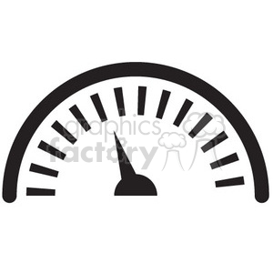 gauge vector icon clipart. Royalty-free image # 398749