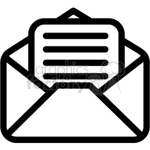 email document vector icon clipart. Commercial use image # 398829