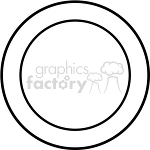 round design template vector art clipart. Royalty-free image # 400241