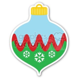 christmas ornament decoration clipart. Royalty-free image # 400371
