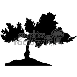 tree vector svg cut files silhouette cricut studio die cuts design clipart. Royalty-free icon # 402324