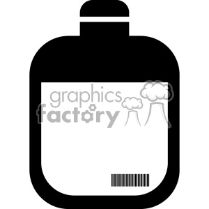jug bottle vector icon art clipart. Royalty-free image # 402392