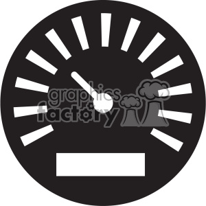 meter gauge vector icon art clipart. Royalty-free image # 402394