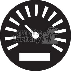 meter gauge vector icon art