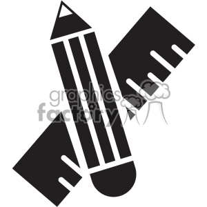 school supplies vector icon art clipart. Royalty-free icon # 402403